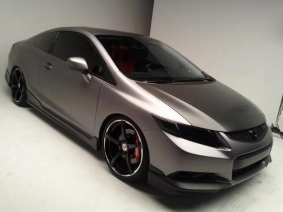 2012 Honda Civic Si Project Konig Wheels