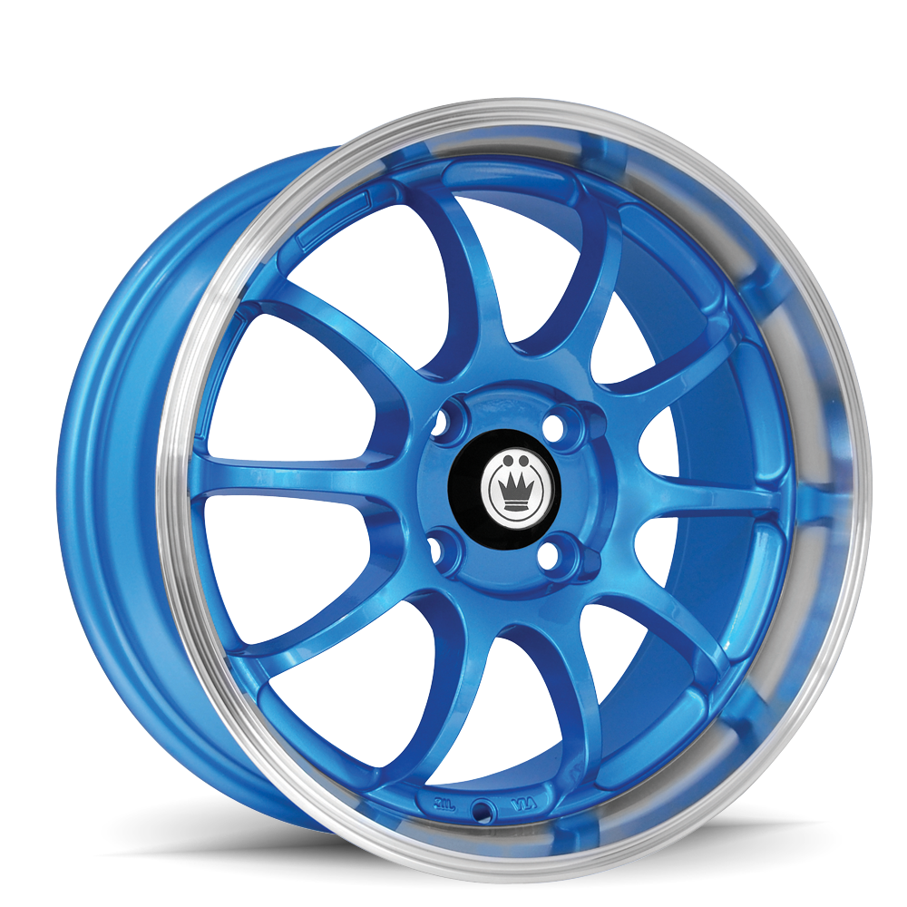 Blue W/ Machined Lip  sc 1 st  Konig Wheels & Lightning - Konig Wheels azcodes.com